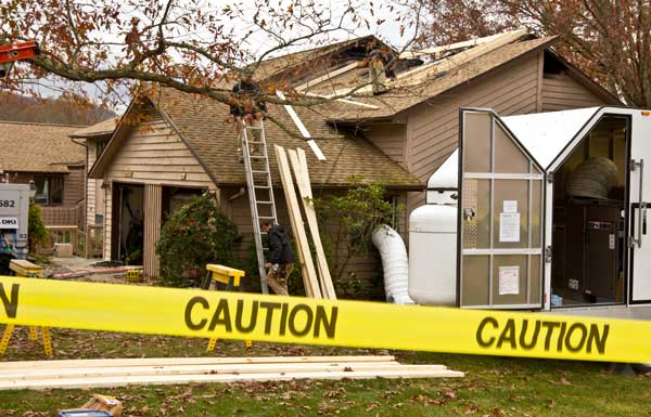 fire damage cleanup process first restoration services