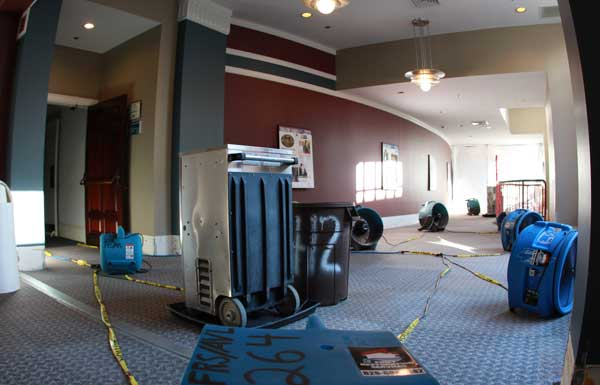 commercial water damage restoration first restoration services