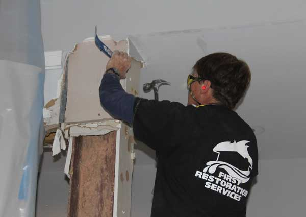 asheville art museum water damage first restoration services