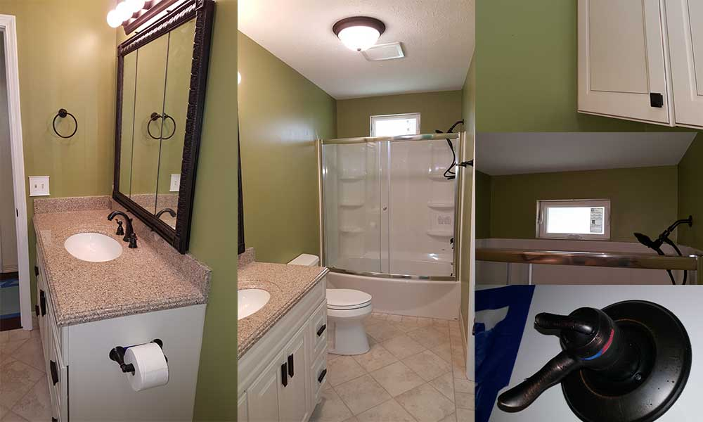 bathroom remodel update