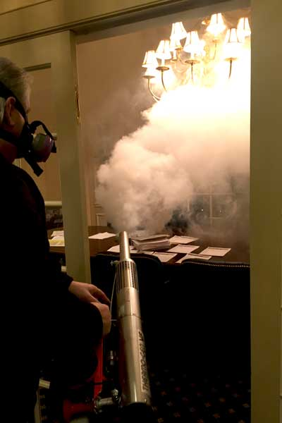 removing smoke and cigarette odor first restoration services