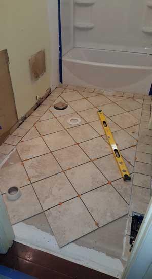 ceramic tile installation frs construction