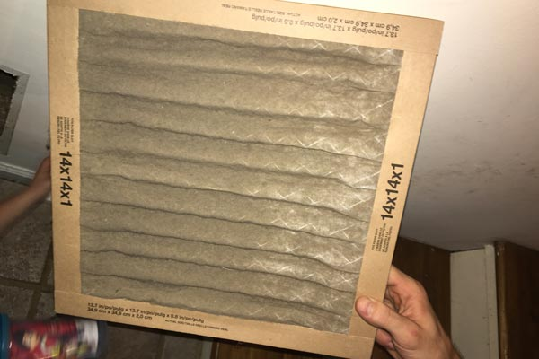 dirty hvac filter first restoration services