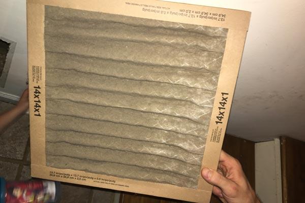 dirty hvac filter first restoration services