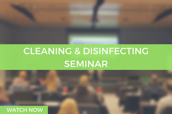 cleaning and disinfecting seminar first restoration services