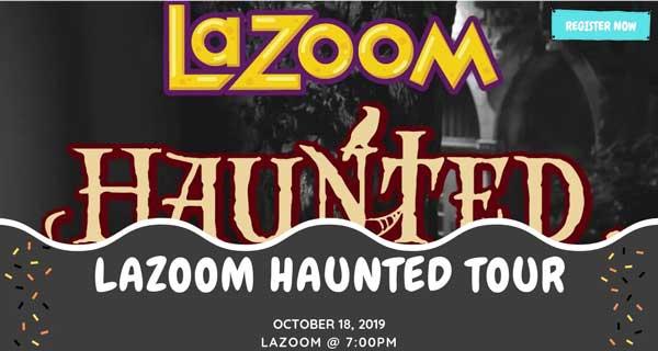 lazoom haunted tour
