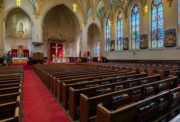 commercial restoration for religious facilities