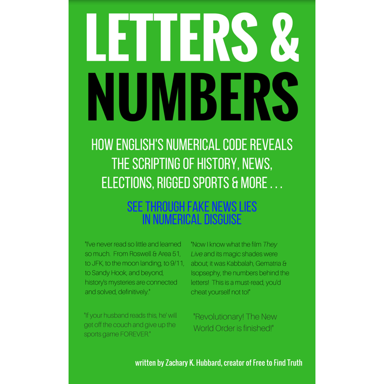 square letters and numbers