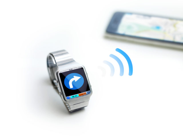 concept of data watch, so called smart watch or iwatch