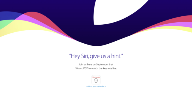 Apple Event Siri
