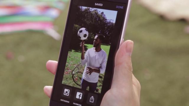 Boomerang app from Instagram