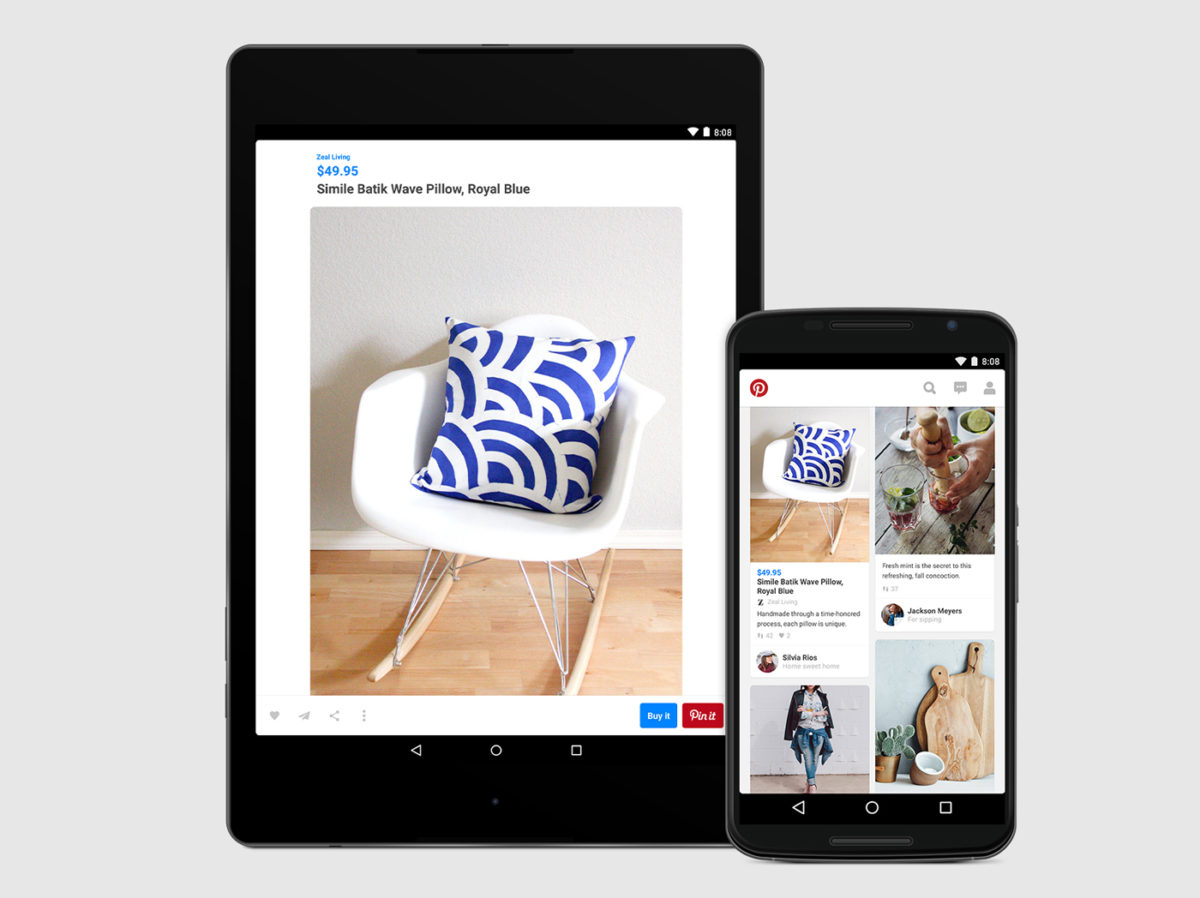 Buyable Pins – Android Phone & Tablet