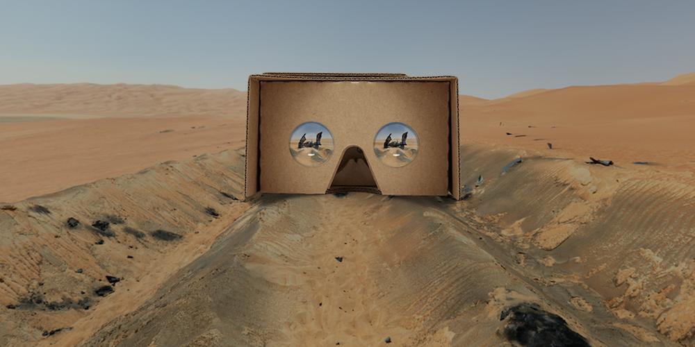 Jakku Spy VR Content