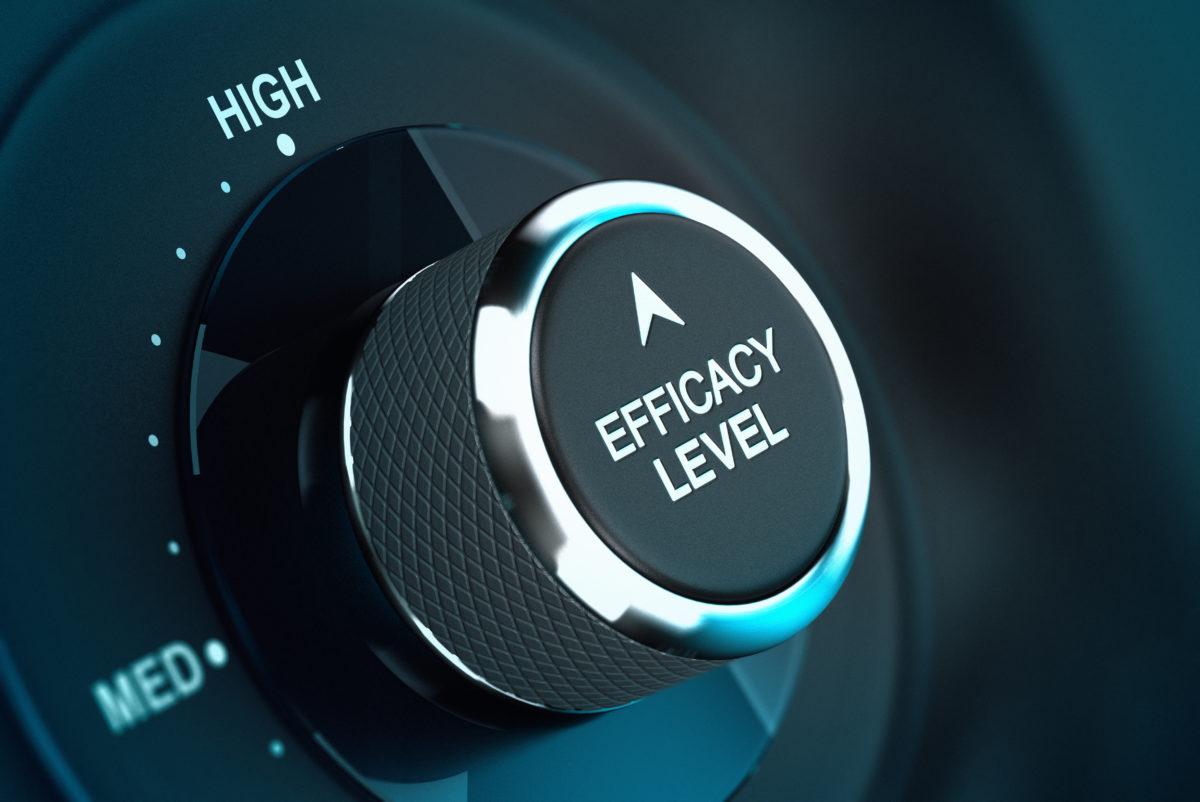 High Self Efficacy Level – Efficiency Objective