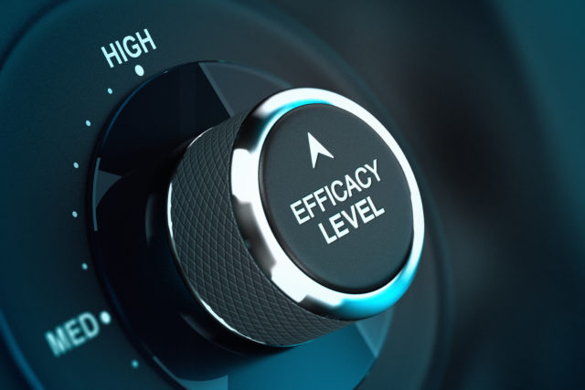 High Self Efficacy Level – Efficiency Objective