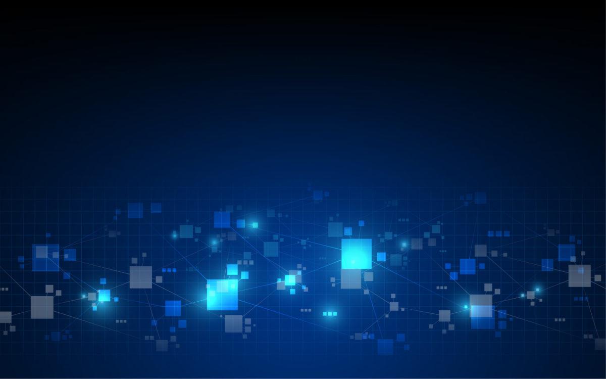 abstract telecommunications technology digital pattern background