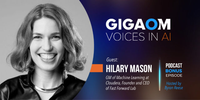 Voices in AI_Episode Bonus Hilary_GigaOm Featured Image