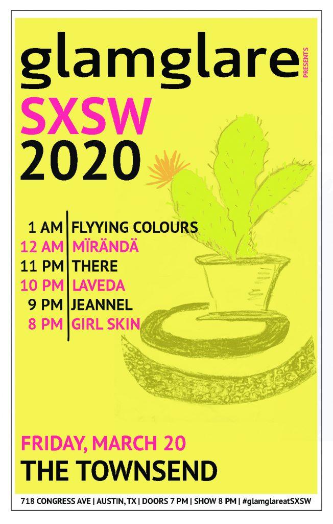 glamglare SXSW showcase 2020