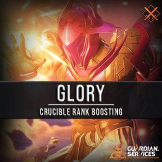 Glory Crucible Rank Boosting