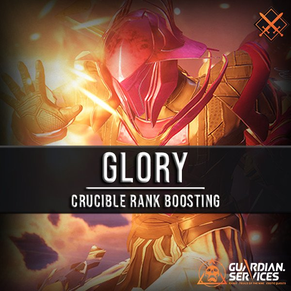 Glory Crucible Rank Boosting