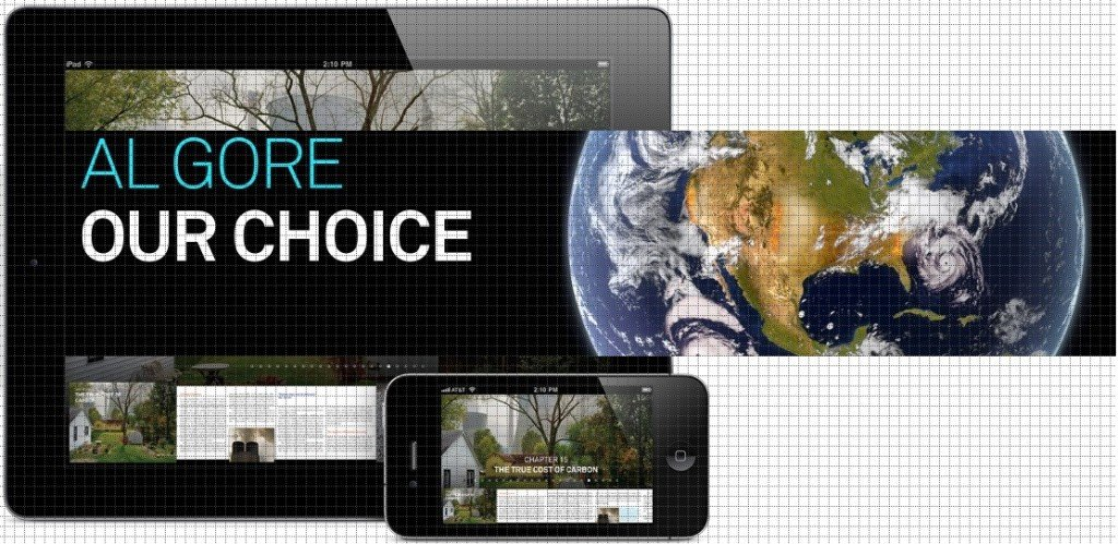 Our choice turns your IPAD into rich interactive ebook.