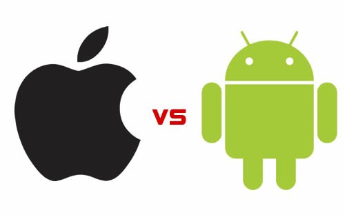 Android vs iOS the battle of mobile OS [Infographics]