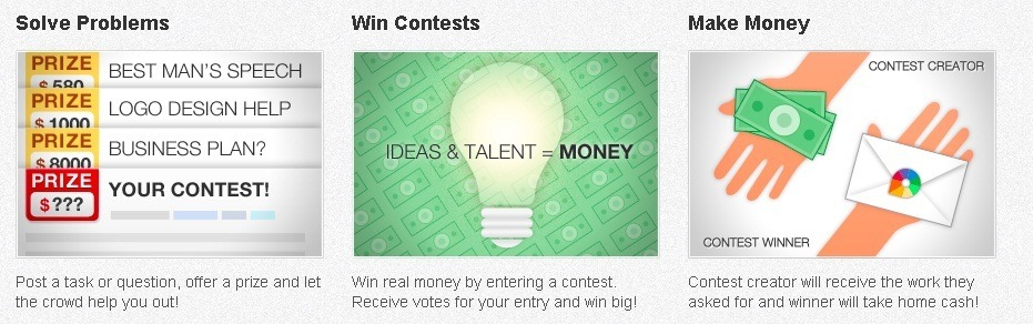 Earn cash for ideas from Google Prizes.