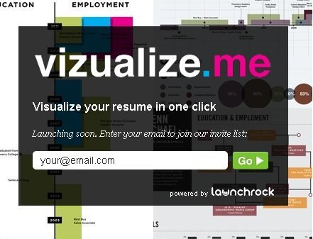 Turn your LinkedIn profile to an infographic resume.