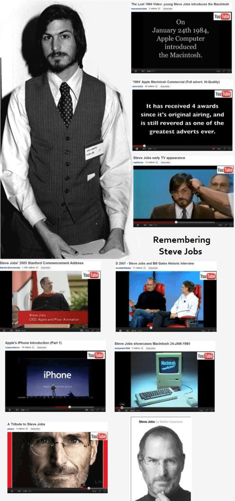 Remembering Steve Jobs the visionary.