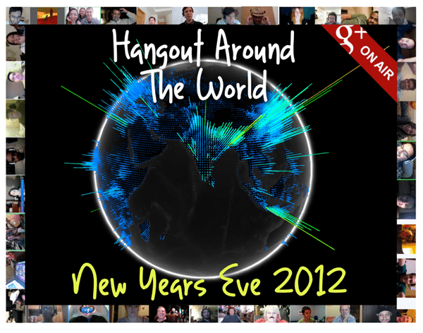 New Year celebrations around the world using Google Hangouts [Live event]