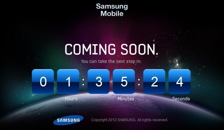 Samsung Launches the next Galaxy smartphone teaser video.