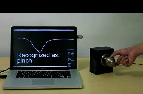 "Touche: An interface system to add gestures to your ""door knob""!"