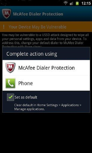 Find out if your Android device is affected by the USSD vulnerability , even mine was vulnerable .