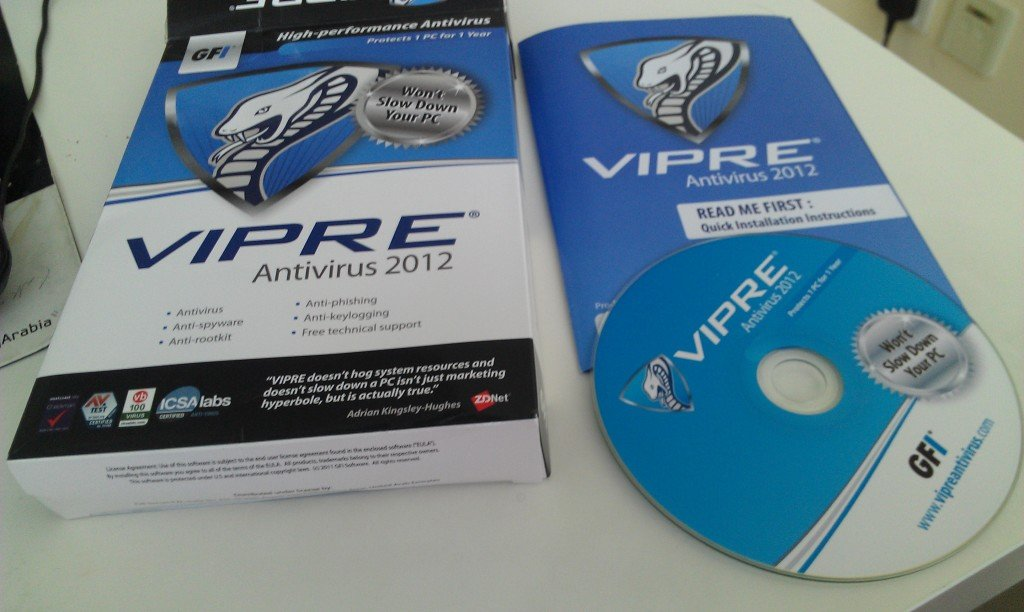 Vipre Antivirus Review and Giveaway.