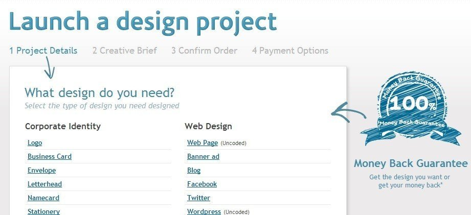 CrowdSourcing works and Design Crowd is a pure example of it.