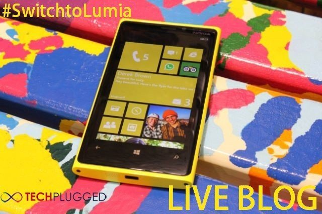 Nokia Lumia 920 & 820 Launch in Dubai UAE [Live Blog]