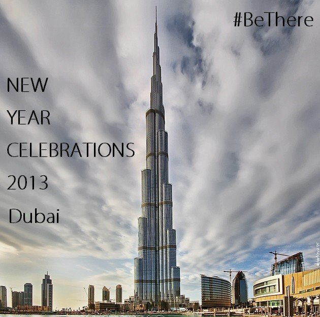 Watch Burj Khalifa New Year's Eve Fireworks Live from Dubai on YouTube .