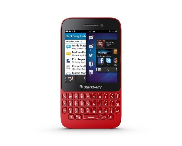 BlackBerry Introduces a Youthful , Fun and budget BlackBerry 10 QWERTY smartphone, the BlackBerry Q5
