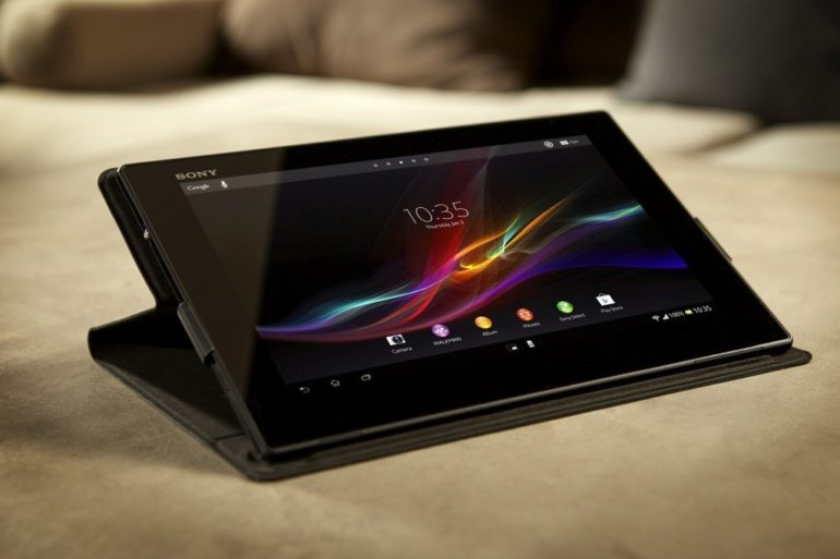 World's Slimmest 10-inch Tablet Launched : Sony Xperia Tablet Z