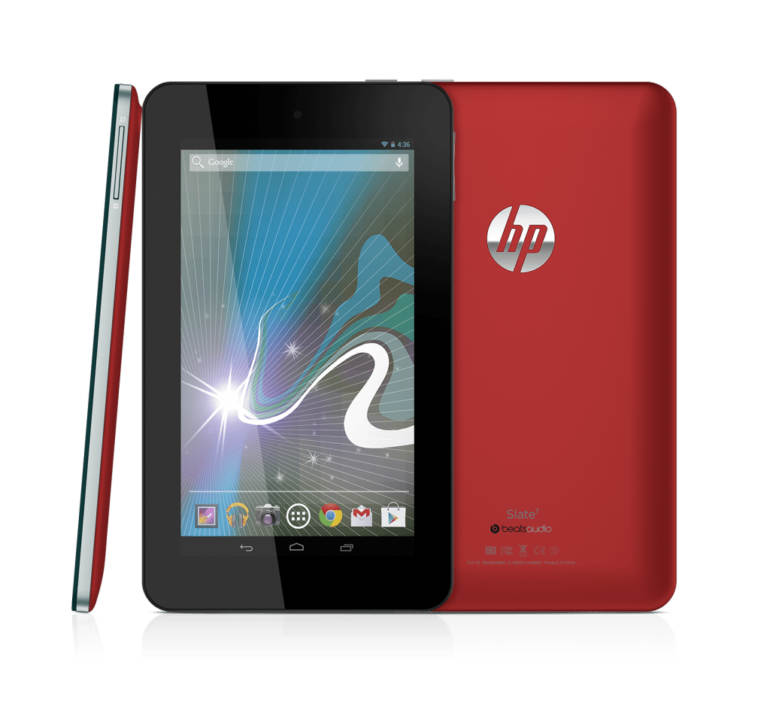 HP Launches Slate 7 Android Consumer Tablet for 599 AED in the Middle East