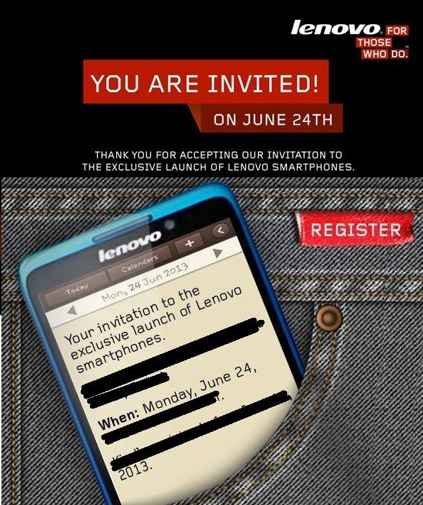 Lenovo Smartphones To Be Launched In Dubai on June 24th .