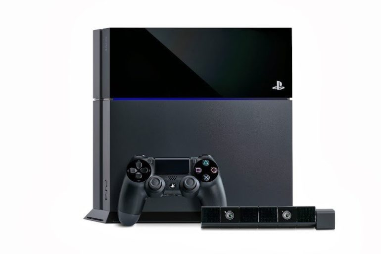 Sony Playstation 4 technical specs and gallery .