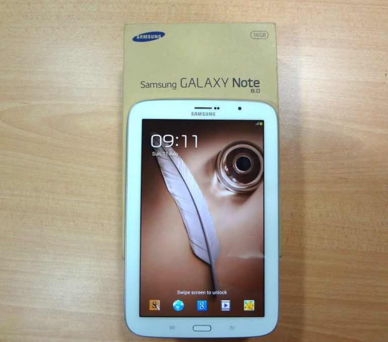 Samsung Galaxy Note 8.0 Unboxing [In Pictures]