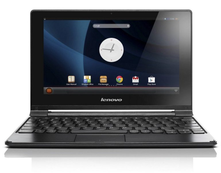 Lenovo A10 Android notebook dual mode to be sold during Gitex shopper.