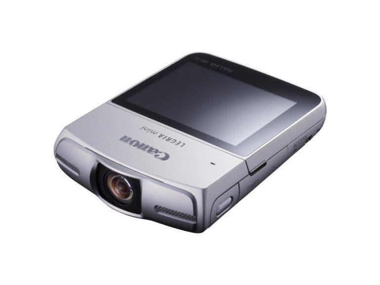Canon announces LEGRIA mini camcorder.