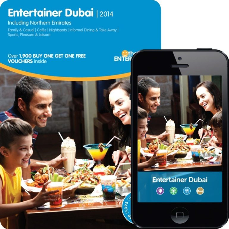 THE ENTERTAINER LAUNCHES MOBILE APPS.