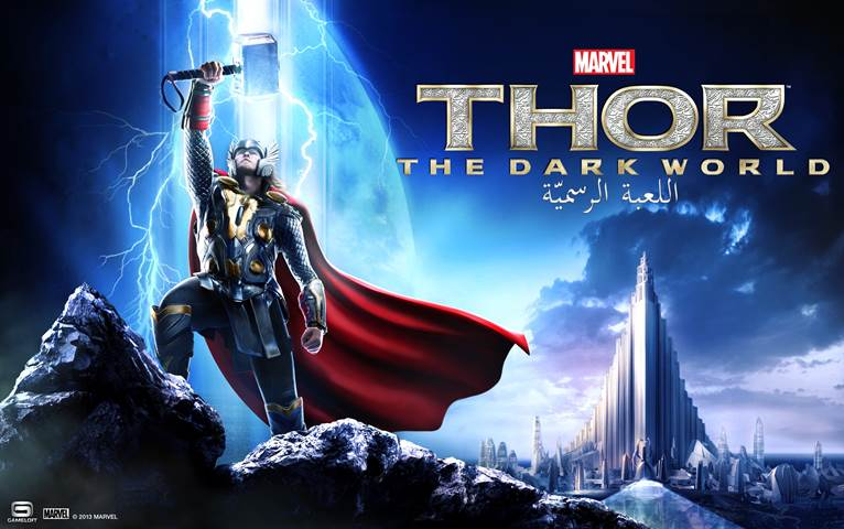 Gameloft and Marvel Today Launch Thor: The Dark World – The Official Game for iOS, Android
