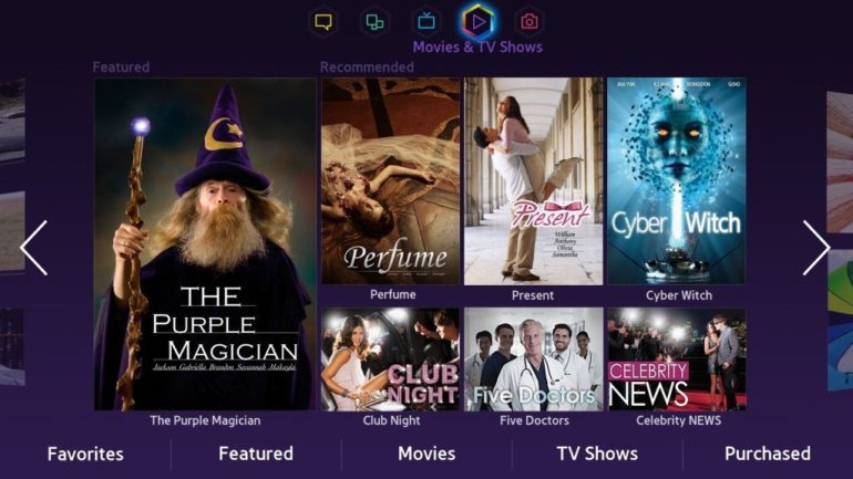Samsung launches Movie & TV Shows Panel for SMART TV viewers in the UAE