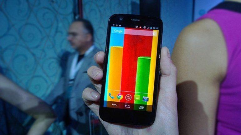 Motorola launches Moto G in the UAE .