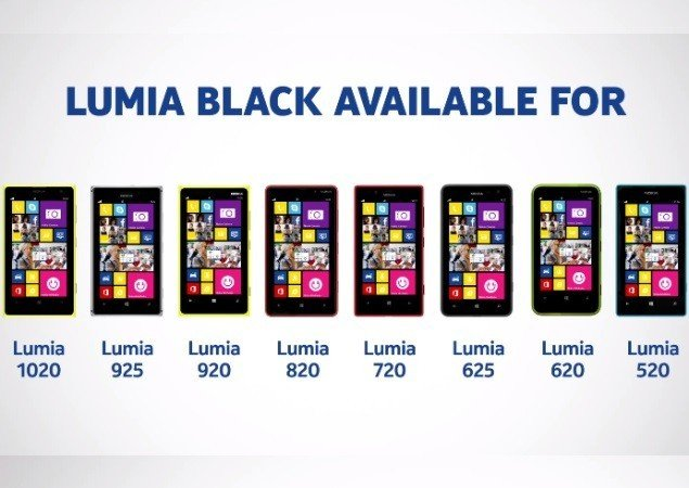 Nokia Lumia Black Software Update Rolls out in UAE.